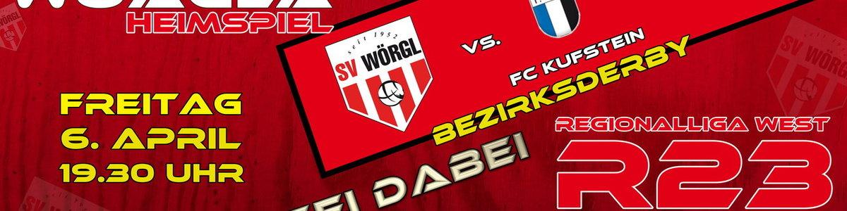 RL Heimspiel SV Wörgl - FC Kufstein